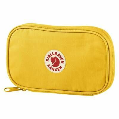 Fjallraven KÅNKEN Travel Wallet- Warm Yellow