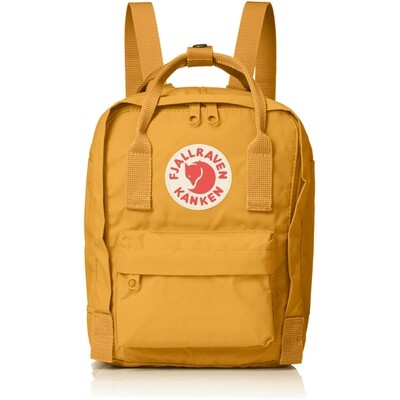 Fjallraven KÅNKEN Mini Backpack- Warm Yellow