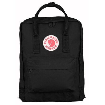 Fjallraven KÅNKEN Backpack- Black