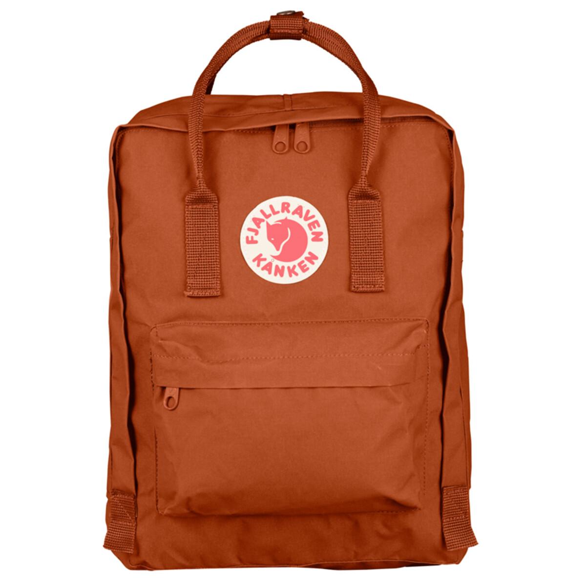 Fjallraven KÅNKEN Backpack- Brick