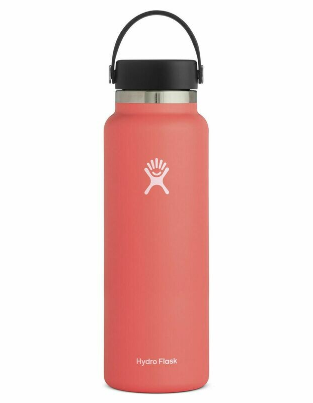 Hydro Flask 40oz Wide Mouth 2.0- Hibiscus