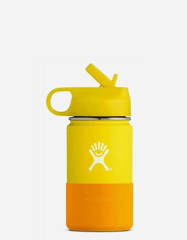 Hydro Flask 12oz Kids Wide Mouth- Lemon