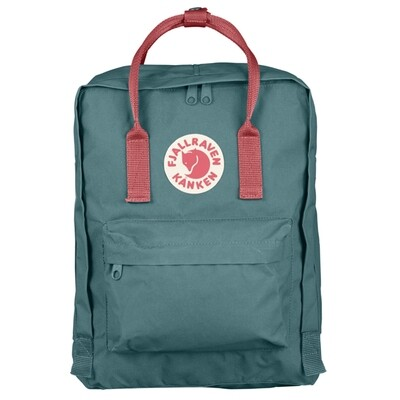 Fjallraven KÅNKEN Backpack- Frost Green Peach Pink