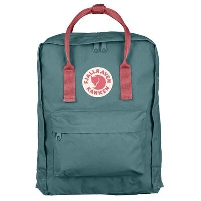 Fjallraven KÅNKEN Backpack- Frost Green Peach Pink
