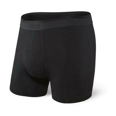 SAXX Men's Platinum Boxer- Blackout