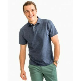 Southern Tide Men's Pecan Grove Polo