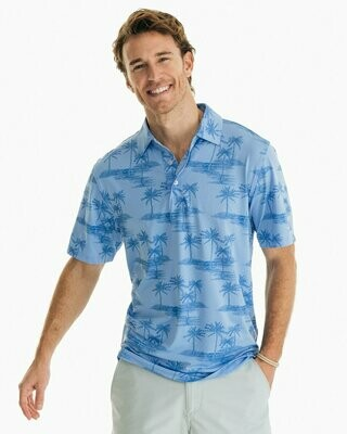 Southern Tide Men's Palm Driver Performance Polo
