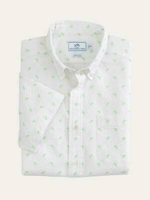 Southern Tide Men's Pick Up Limes Button Down