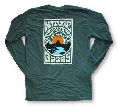 Nature Backs Long Sleeve Sublime Tee