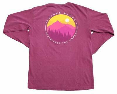 Nature Backs Long Sleeve Awaken Tee