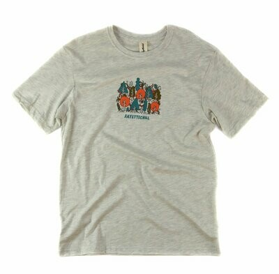 Fayettechill Men's Electric Forest Tee