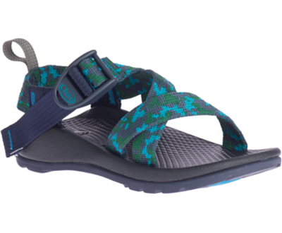 Chaco Kid's Z/1 Ecotread- Anticamo Navy