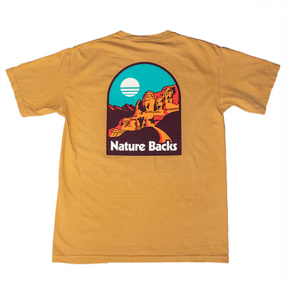 Nature Backs Mesa Tee