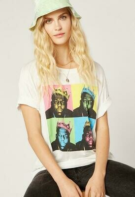 Daydreamer Women's Biggie Color Pop Tee