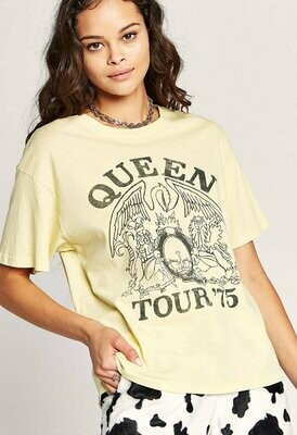 Daydreamer Women's Queen Tour '75 Boyfriend Tee