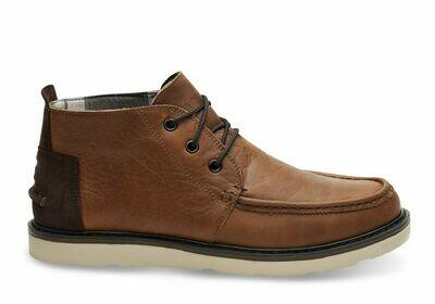 Toms Men's Waterproof Leather Chukka Boot