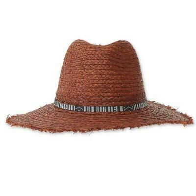 Kavu Flores Packable Hat- Soil