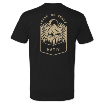 Nativ Leave No Trace Tee