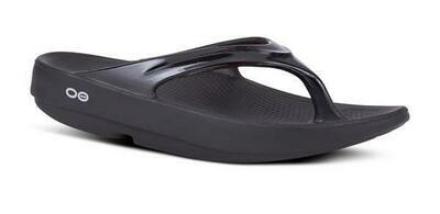 Oofos OOlala Sandal- Black