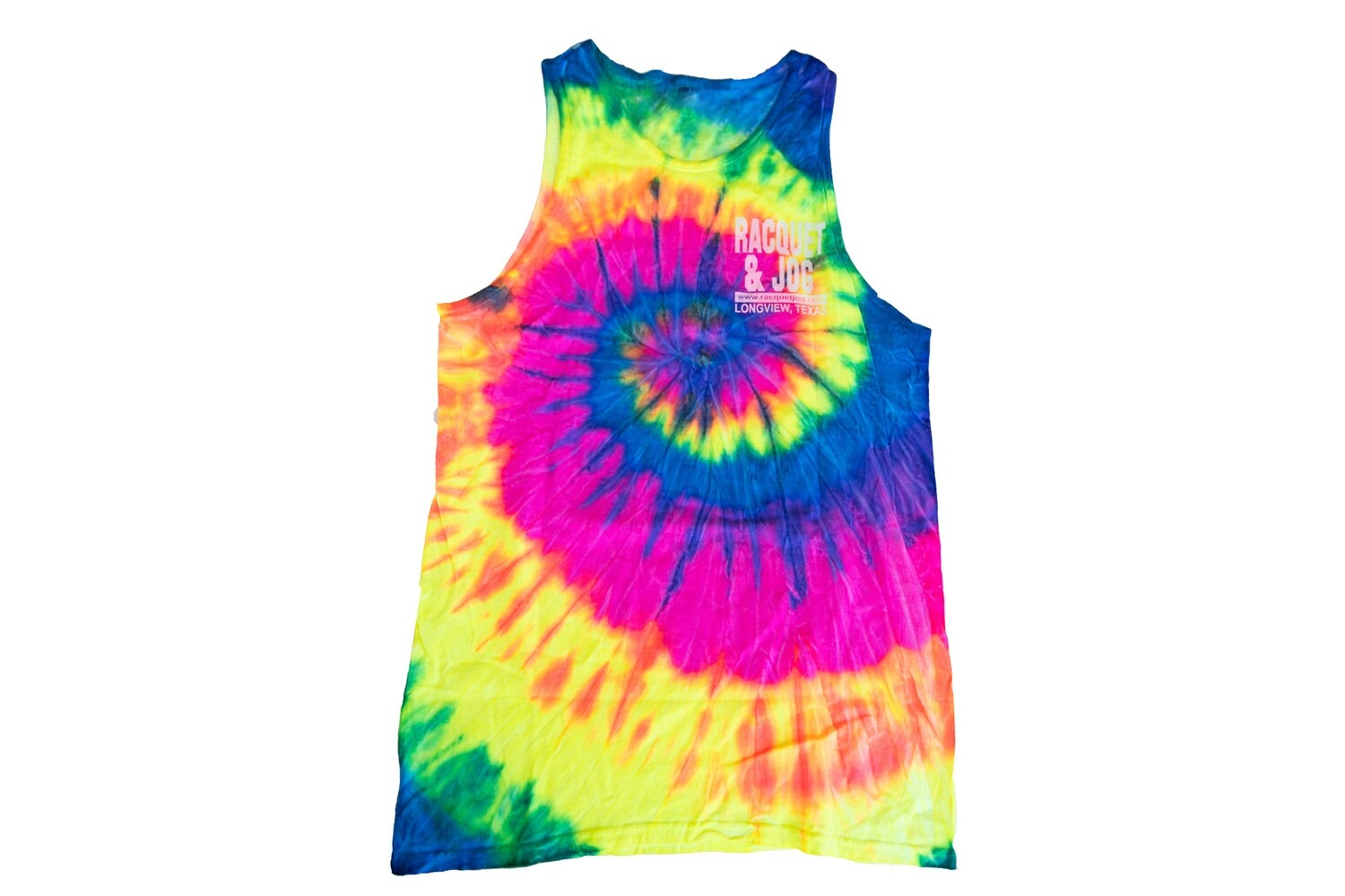 Racquet & Jog Old School Fashion Tie Dye Tank