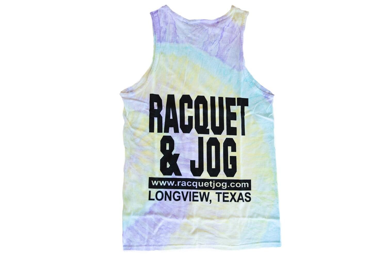Racquet & Jog Old School Fashion Tie Dye Tank