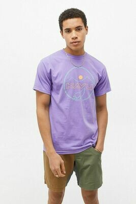 Kavu Men's Join The Pack Tee - Faded Purple
