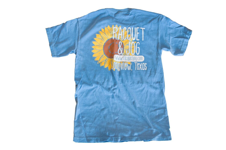 Racquet & Jog Specialty Sunflower Tee
