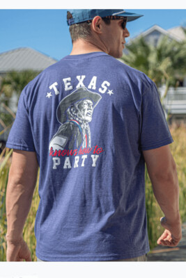 Burlebo Tied To Tex Texas Knows How to Party Tee