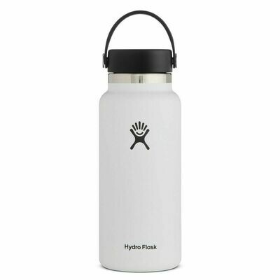 Hydro Flask 32oz Wide Mouth 2.0- White
