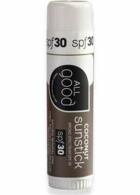 All Good SPF 30 Mineral Sunstick- Coconut