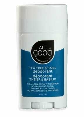 All Good Deodorant - Tea Tree and Basil