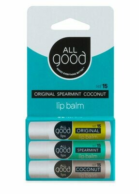 All Good Lip Balm Trio