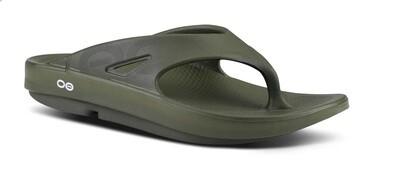 Oofos Original Sport Sandal - Forest Green