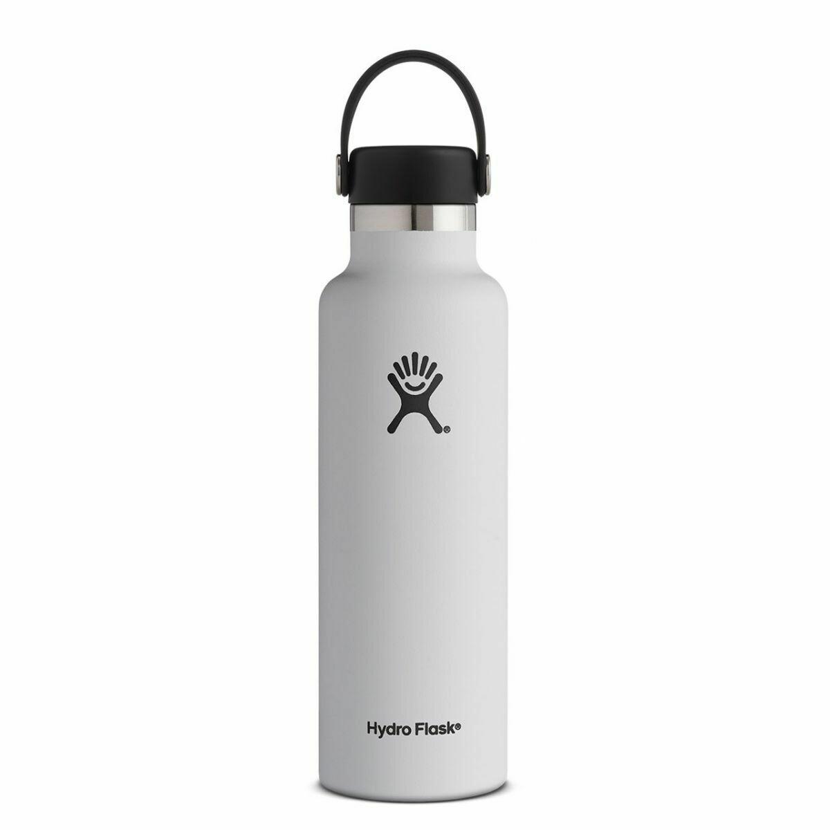 Hydro Flask 21oz Standard Mouth- White