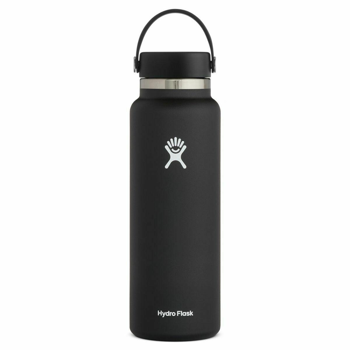 Hydro Flask 40oz Wide Mouth 2.0- Black