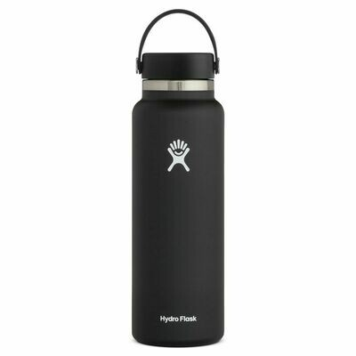 Hydro Flask 40oz Wide Mouth 2.0- Black