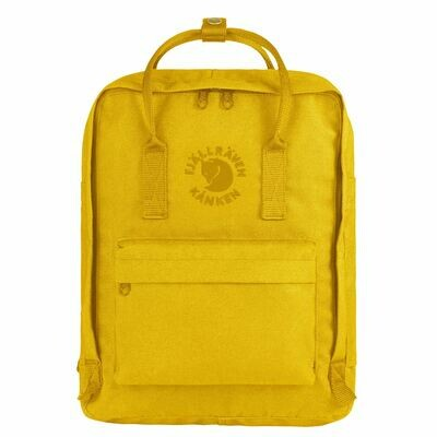 Fjallraven RE-KÅNKEN Backpack- Sunflower Yellow