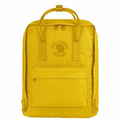 Fjallraven RE-KÅNKEN Backpack- Sunflower Yellow