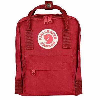 Fjallraven KÅNKEN Mini Backpack- Deep Red