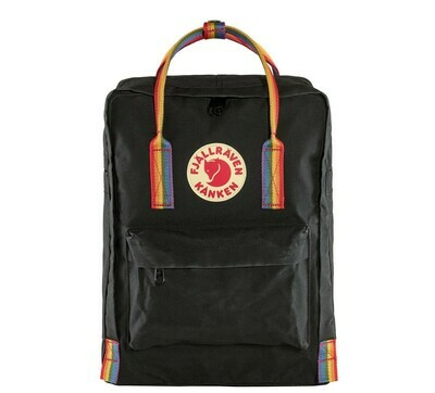 Fjallraven KÅNKEN Rainbow Backpack- Black