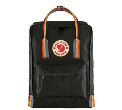 Fjallraven KÅNKEN Rainbow Backpack- Black