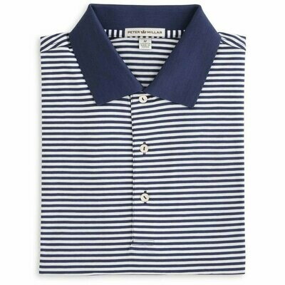 Peter Millar Men's Cotton Lisle Stripe Polo