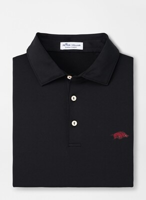 Peter Millar Men's Arkansas Solid Jersey Polo