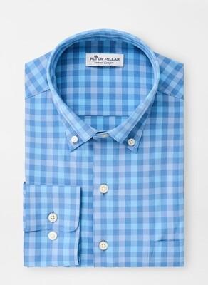 Peter Millar Men's Cornelius Check Sport Shirt