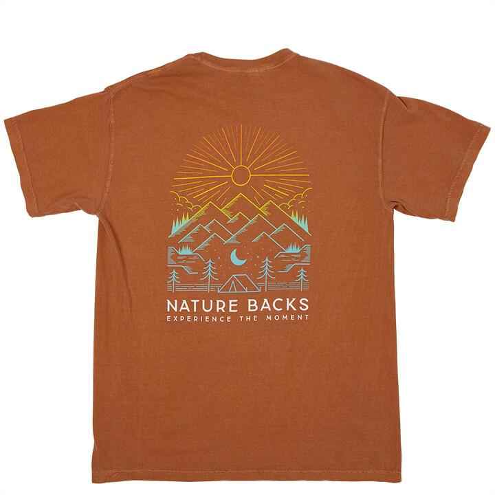 Nature Backs Daybreak Tee