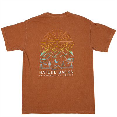 Nature Backs Daybreak Tee