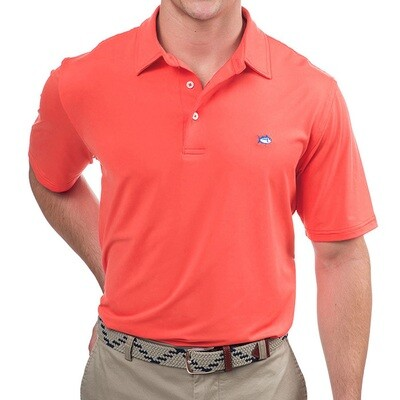 Southern Tide Men's Driver Solid Performance Polo