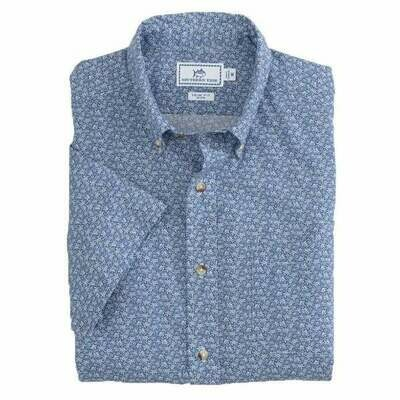 Southern Tide Men's Sea Turtle Button Down