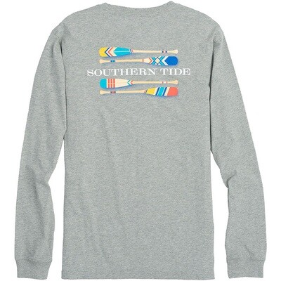 Southern Tide Men's Long Sleeve Canoe Dig It Tee