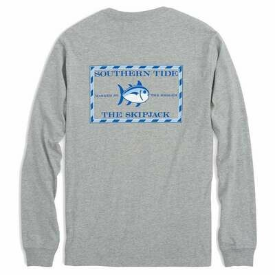 Southern Tide Men's Long Sleeve Heatherd Original Skipjack Tee